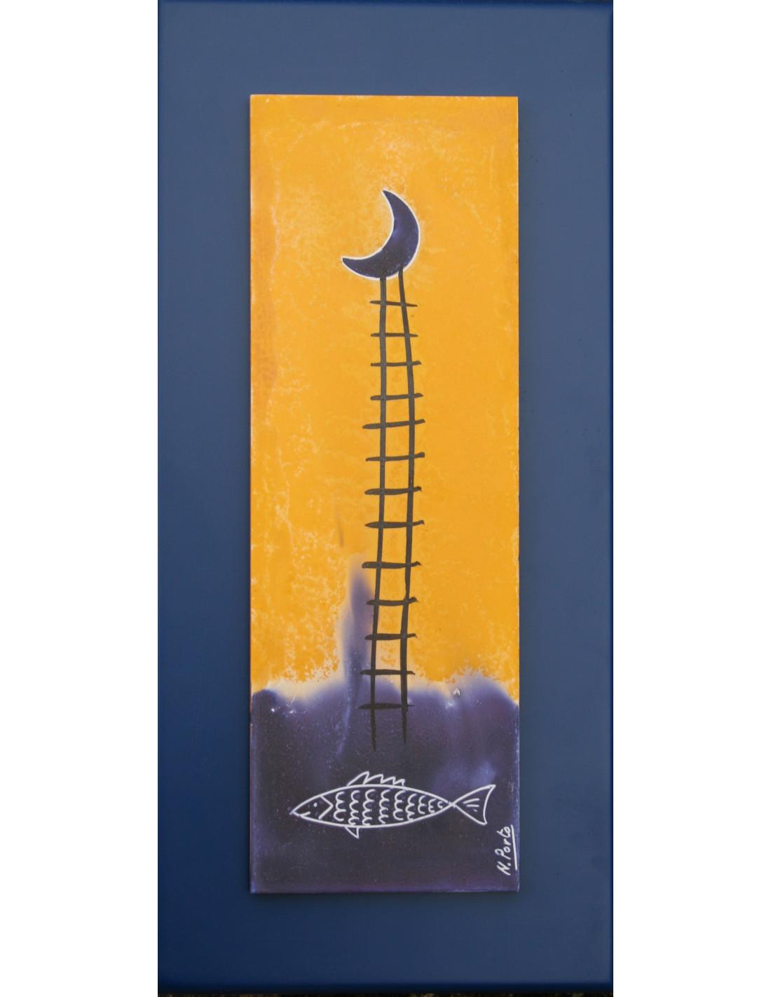 Escalera escalera pintor de madera escalones alpina - Escaleras de madera de pintor ...