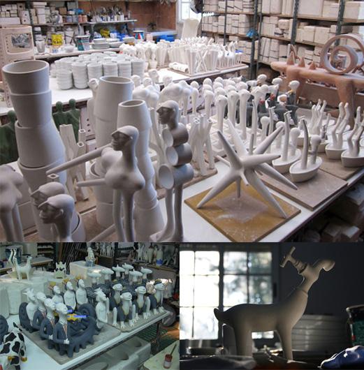 El taller de Nacho Porto